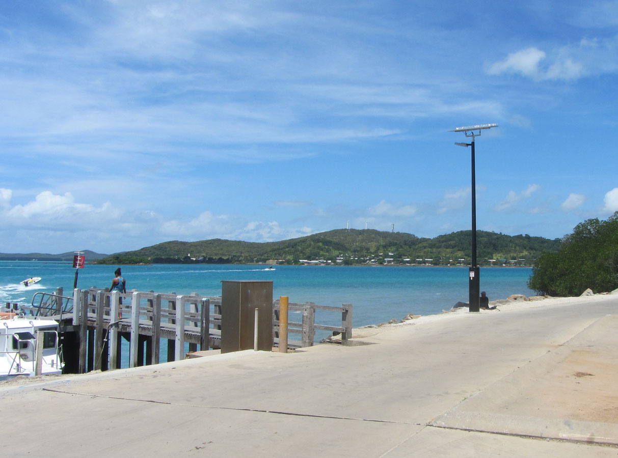 Hammond Island Finger Jetty