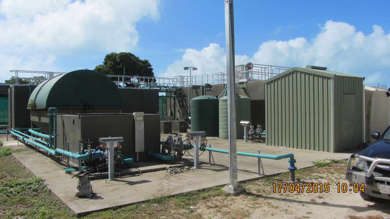 Warraber Sewerage Treatment Plant