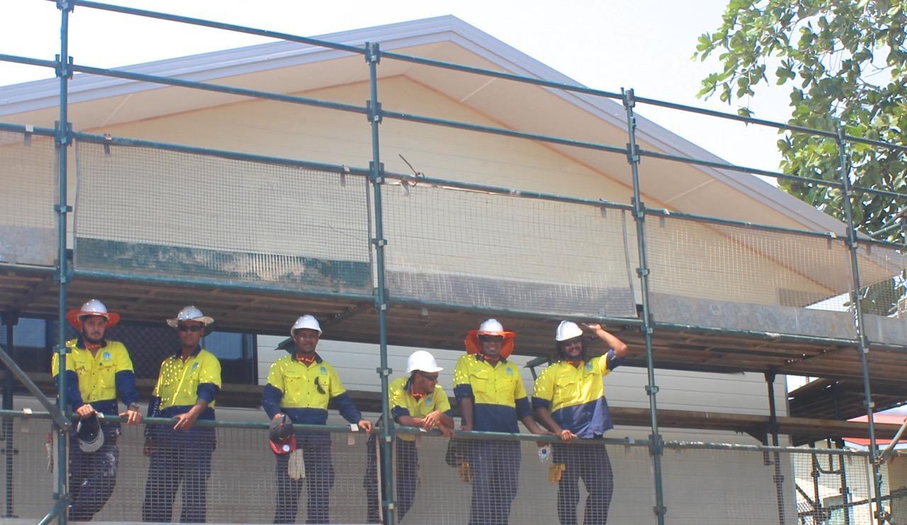 Building - apprentices