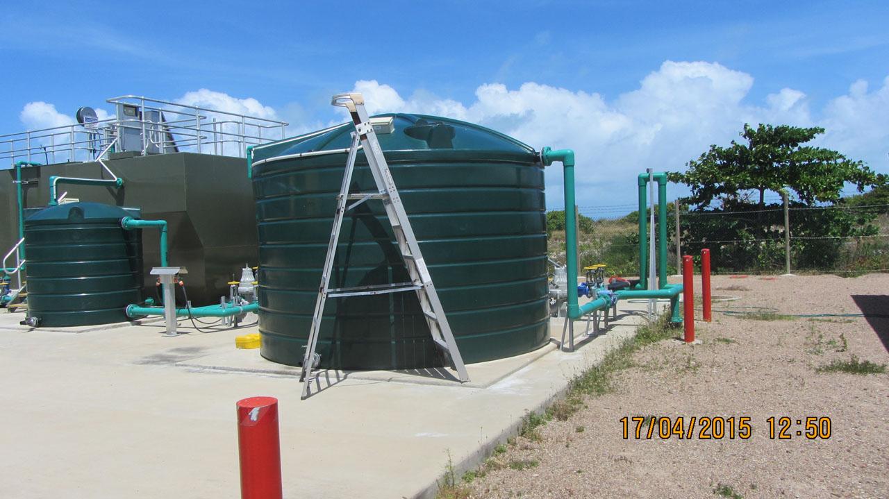 Poruma Island Sewerage Treatment Plant