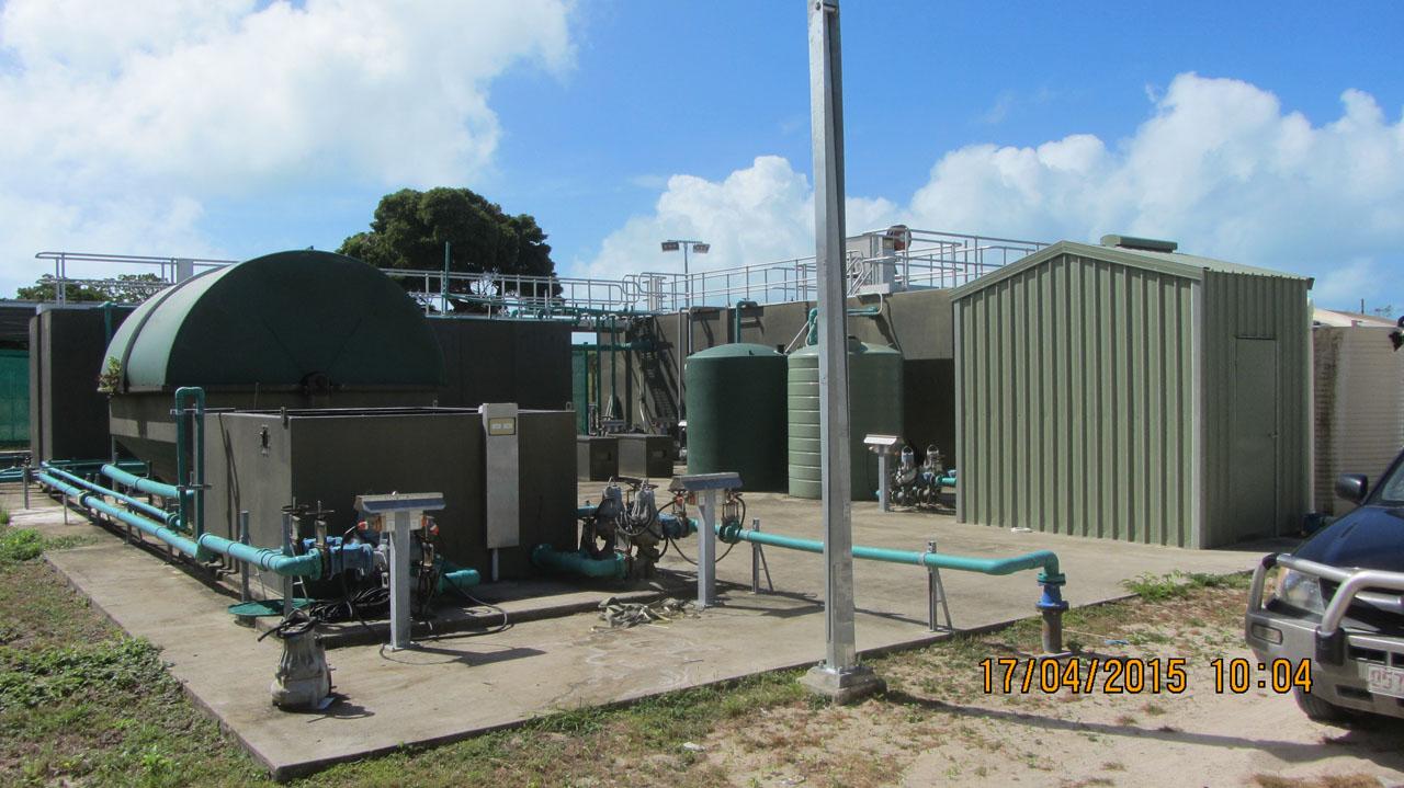 Warraber Sewerage Treatment Plant